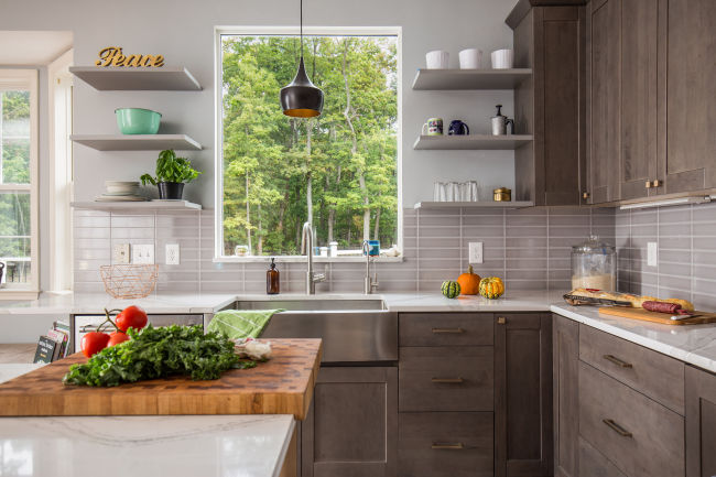 Functional Kitchen Design Layouts For Small Spaces Great Falls Va